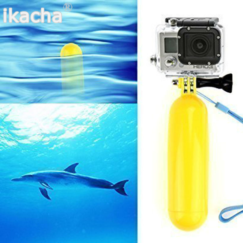 Yellow Water Floating Hand Grip Gopro (1)