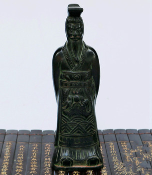 Bronze archaize furnishing articles of the qinshihuang terracotta warriors Home decoration