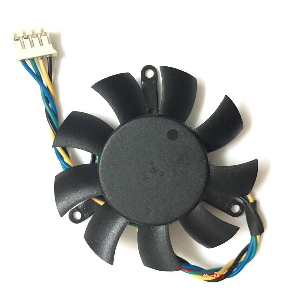 Diameter 45mm 0.19A 2pin Computer Vedio Card VGA Cooler Fan For Leadtek Quadro K620 Graphics card cooling