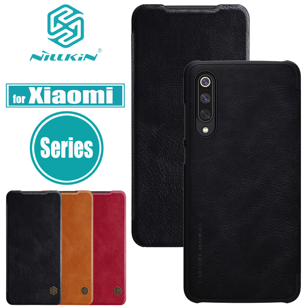 Nilkin Xiaomi Mi 9 SE Case Mi 8 Cover Nillkin Flip Leather Wallet Smart Phone Back Cases for Xiaomi Redmi Note 7 6 Pro A2 LiteNilkin Xiaomi Mi 9 SE Case Mi 8 Cover Nillkin Flip Leather Wallet Smart Phone Back Cases for Xiaomi Redmi Note 7 6 Pro A2 Lite