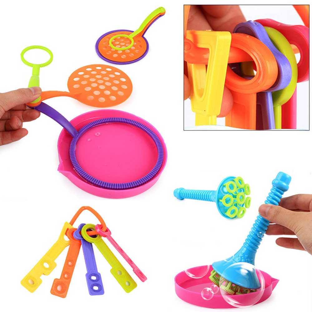 13pcs/set Bubble Sticks Set Outdoor Bubble Toys Empty Blowing Bubble Soap Tools Toy For Children Wedding Birthday Party Toys Spare No Cost At Any Cost Bubbles Outdoor Fun & Sports