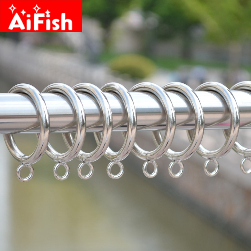 30 pieces /lot Hook Hanging Shower Rings Curtain hanging Ring Made of Metal/ Curtain Accessory 3 colors /diameter 45mm cp055#40