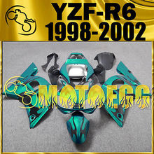 Motoegg Injection Mold Fairings For YAMAHA YZF-R6 YZF R6 1998-2002 Green #69  Motorcycle plastic