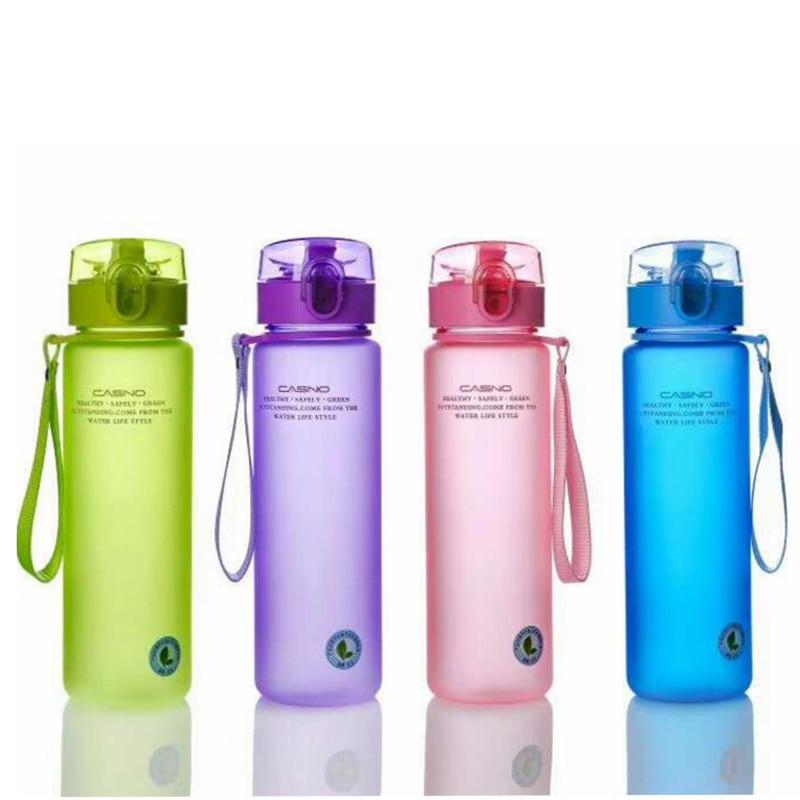 400 ml À Prova de Vazamento de 560 ml BPA Livre Esportes Garrafa de Água Passeio Caminhadas Garrafas Portáteis de Alta Qualidade
