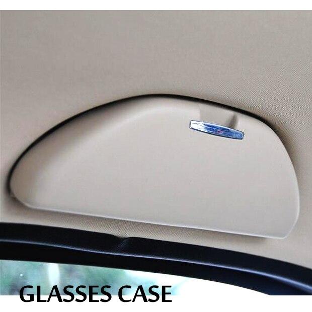 Pour VW Polo 6R 2010-2017 / Skoda Rapid 2012-2019 voiture lunettes de soleil boîte lunettes de soleil étui support stockage OEM Fitment 18D 857 465