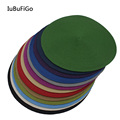 40*40cm Fashion PP Round Base Fascinator Base Millinery Acc For Headpiece #13 color
