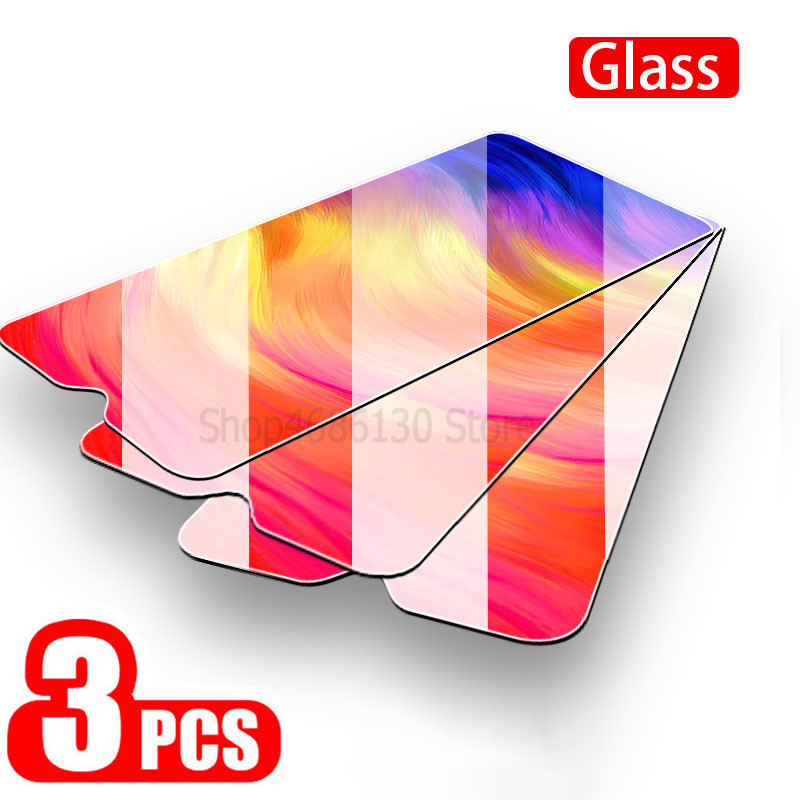 3-1PCS 9H Tempered Glass For Xiaomi Redmi Note 7 6 Pro Screen Protector Glass For Xiaomi Redmi 7 6 6A Note 7 Protective Glass(China)