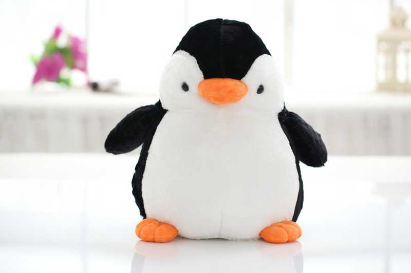1 قطع 50 سنتيمتر لطيف البطريق لينة محشوة دمية أفخم لعب للأطفال أفضل هدايا عيد الصور الحقيقية