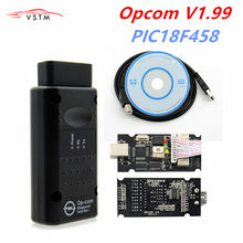 Op Com V1.99 V1.59 1.70 1.781.95 Met PIC18F458 Chip Diagnostic Tool Opcom Can Bus Diagnostic Tool Voor Opel