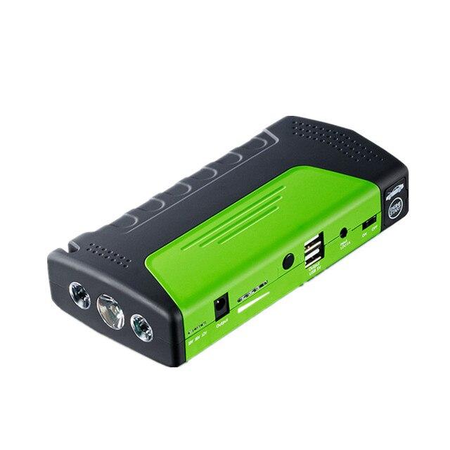 Car starter with Kit Booster Support 12 V 2USB SOS Light Safe Escape Hammer Car Jump Starter Charger for Laptop phone