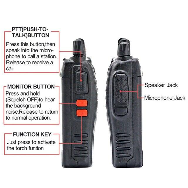 2 pcs 4 pcs baofeng bf-888s walkie