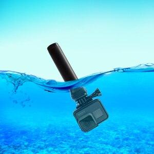 Image 2 - Probty Siyah Yüzen El Grip Kolu Floaty Direği GoPro Hero 5 4 3 + 3 SJCAM Xiaomi Yi SJ4000 EKEN AMKOV Eylem Kamera