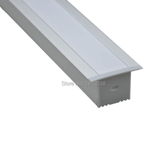 US $212 66 9% OFF|10 Sets/Lot T type Anodized LED aluminum profile AL6063  Aluminium led profile LED Channel profile for ceiling and wall lighting-in