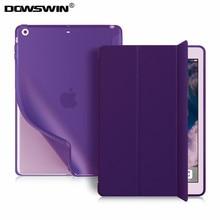 Купить с кэшбэком for iPad Mini 1 Mini 2 Mini 3 Case ,DOWSWIN PU Leather Ultra Slim Smart Cover for Apple iPad Mini Case TPU Soft back cover