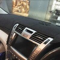 dashmats car styling accessories dashboard cover for lexus LS460 LS600L LS600H 2006 2007 2008 2009 2010 rhd