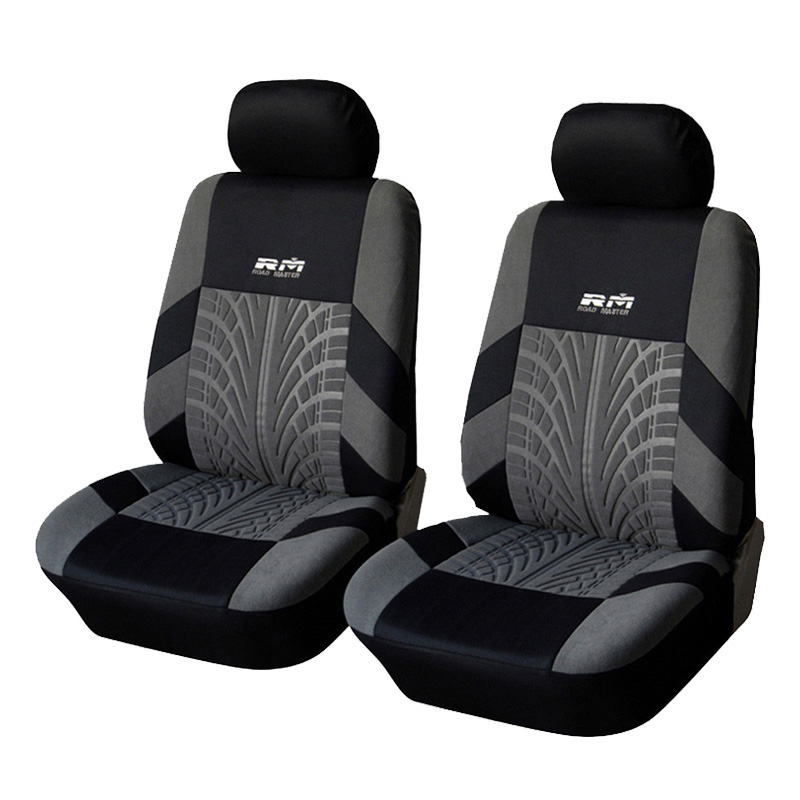 Car Seat Cover Polyester Fabric Universal Car Styling Covers For Car Front Seat Covers Protector Interior