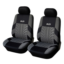 Car Front Seat Cover Polyester Fabric Universal Car-Covers Car Styling Covers For Car Seats Protector Interior Accessories