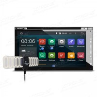 6 95 Quad Core Android 4 4 4 OS 2 Din Car DVD Double Din Car