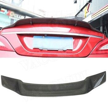 カーボンファイバーリアスポイラーメルセデスベンツ Cls クラス W218 CLS300 CLS350 CLS500 CLS550 CLS63 セダン 2012-2017 R 車のスタイリング FRP