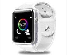 Hot A1 Smart Armbanduhr Bluetooth Smartwatch Unterstützung Sim-karte Tragbare uhr für Adroid IOS