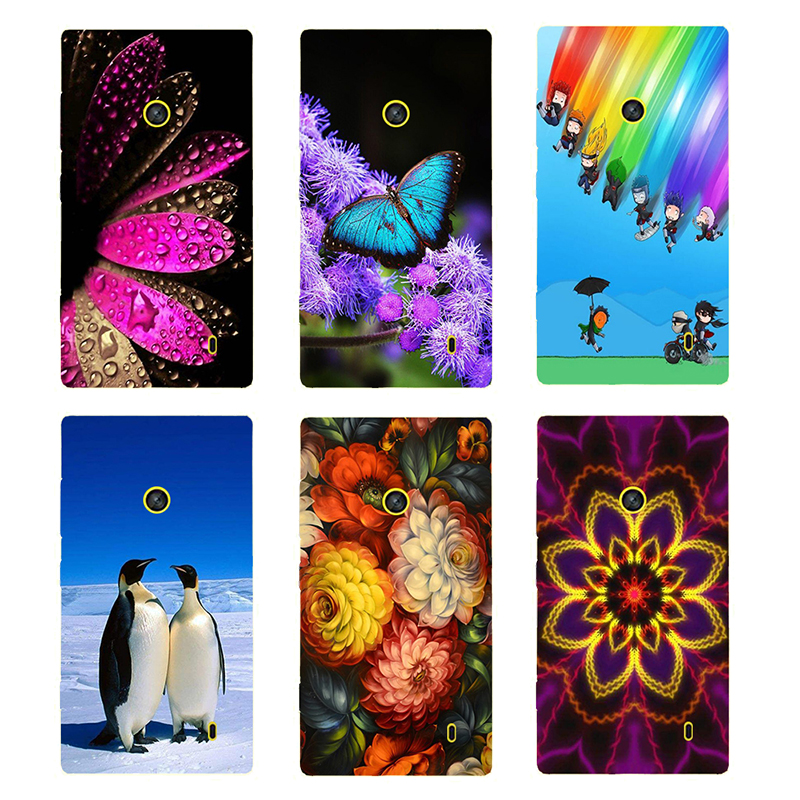 Patterned Case For Nokia Lumia 520 525 526 Back Cover