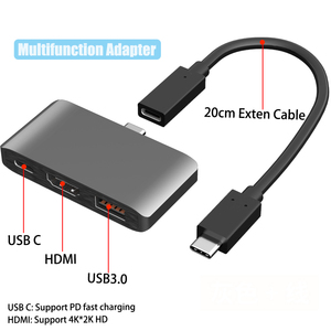Image 2 - BFOLLOW 3 in 1 Dex Station for Samsung S8 S9 S10 Plus / Note 8 9 10 Pro Pad PD Adapter Type C to HDMI for Huawei