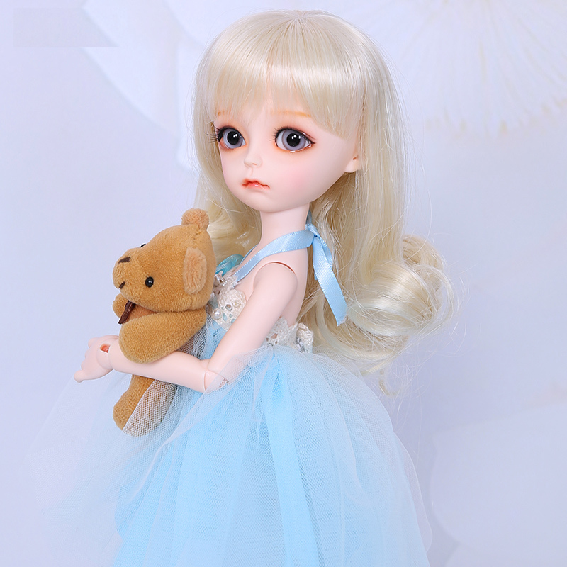 Fairyland littlefee Bisou 1 6 bjd sd dolls model girls boys eyes High Quality toys shop