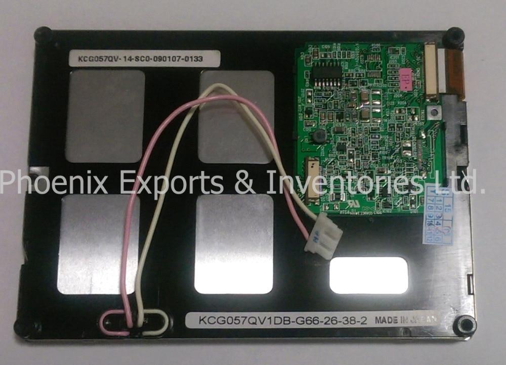 Original KCG057QV1DB G66 5 7 inch LCD DISPLAY PANEL KCG057QV1DB G66