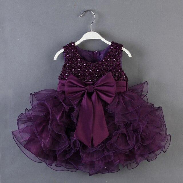 Высокое качество 2015 лето Children1-5 лет одежда девушки рукавов бальное платье платье девочка хлопка многоуровневая принцесса платья