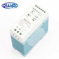 DIANQI MDR-60 12V 5V 15V 24V 36V 48V 60W Din Rail power supply ac-dc driver voltage regulator power suply 110V 220V