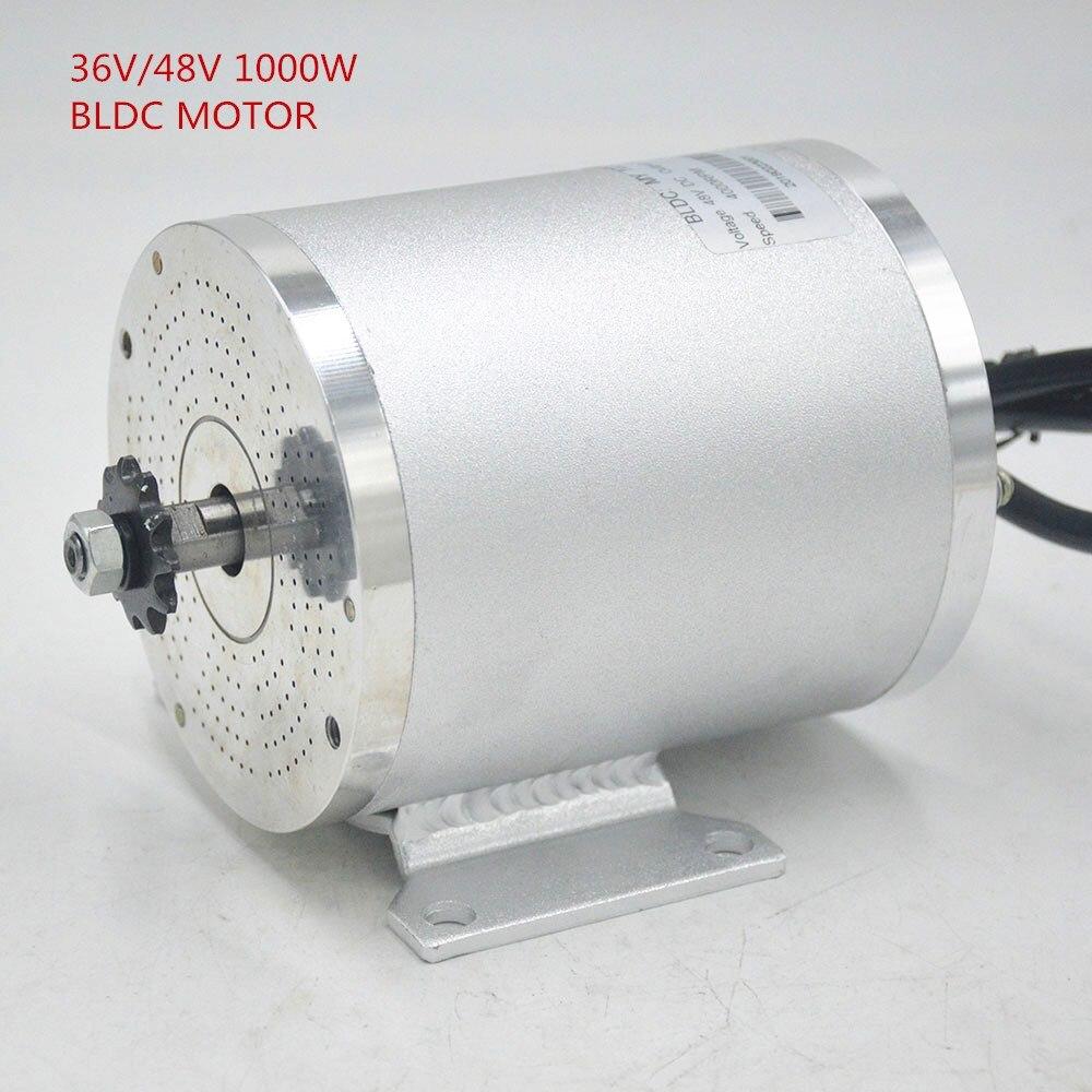 36 V 48 V 1000 W vélo électrique moteur accessoires Brushless BLDC Scooter eBike moteur Modifications bricolage MY1020