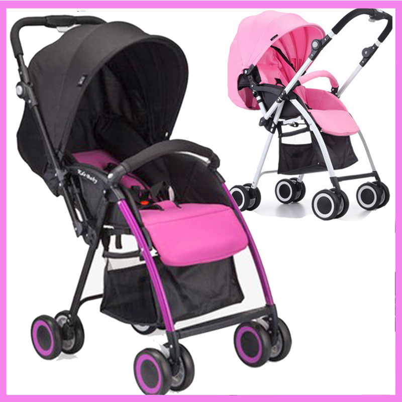 Two-way Reverse Handle Baby Stroller Umbrella Baby Carriage Trolley Baby Pram Pushchair for Newborn Cheap Travel Baby Stroller baby stroller pram children pushchair travel stroller folding ultra light two way umbrella car hw 606