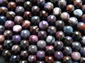 Free Shipping (25 beads/set/23g) natural South Africa Sugilite 8-8.5mm smooth round loose beads stone  for jewelry design