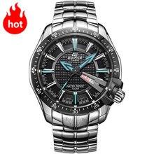 Casio watch Steel Straps Quartz Men's Watch Casual fashion Men's Watches EF-130D-1A2