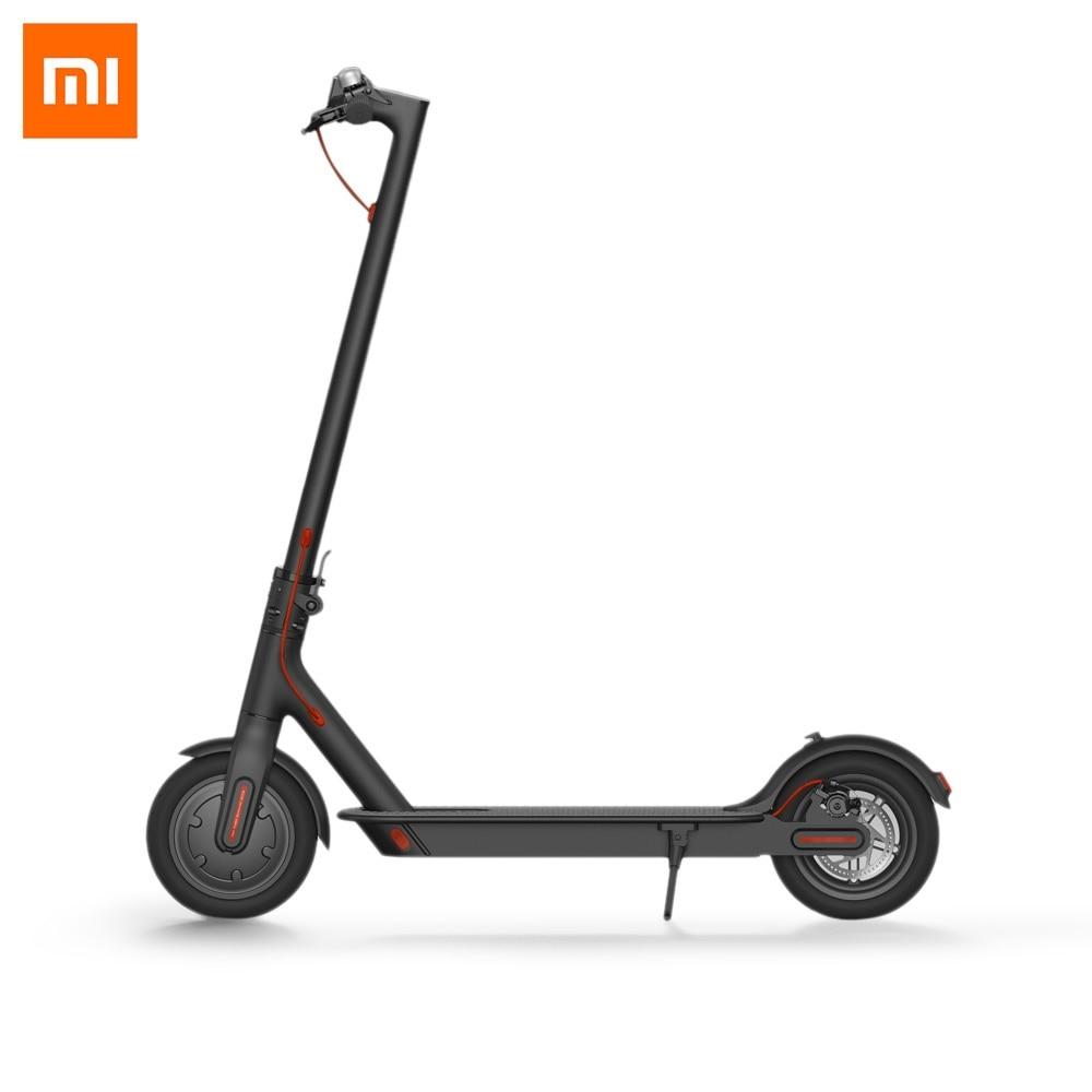Originale Xiaomi M365 Pieghevole Scooter Elettrico di Skateboard E-ABS Sistema di Recupero di Energia Cinetica di Controllo di Crociera Intelligente BMS