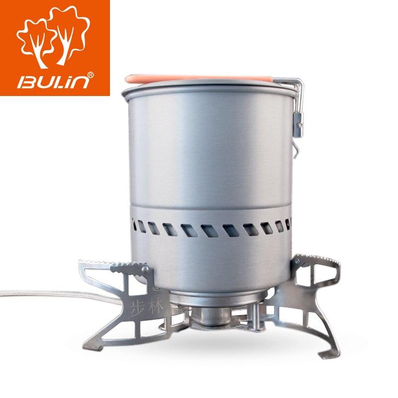 BL100-B15 BULIN Fogão A Gás Ao Ar Livre Ultraleve Liga de Alumínio Dobrável de Camping Cozinhar Queimador Divisão Fogão A Gás-powered para tênis para caminhada