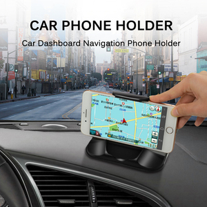 Image 2 - Phone Car Holder For Dashboard Strong Sticky 3M Car Mount Bracket For 3 7 Inch iPhone Samsung GPS Non Slip Reusable Gel Pads Mat