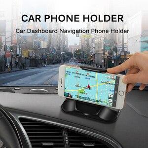Image 2 - Telefono Supporto da Auto Per Cruscotto Forte Appiccicoso 3 M Auto Staffa di Montaggio Per 3 7 Pollici GPS iPhone Samsung non Slip Riutilizzabile Gel Pads Zerbino