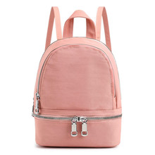 2019 Women backpack for school teenagers girls nylon small Travel backpacks summer Casual Female Fashion