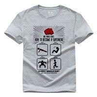 One Punch Man Saitama Men S Short Sleeve T Shirt Pure Cotton Round Collar In 2016