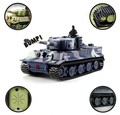 Presente do Dia das crianças Grande Muralha 2117 RC Battle Tank 14CH 1: 72 Simulado Panzer Mini Tanque de Controle Remoto Para As Crianças Brinquedos presente