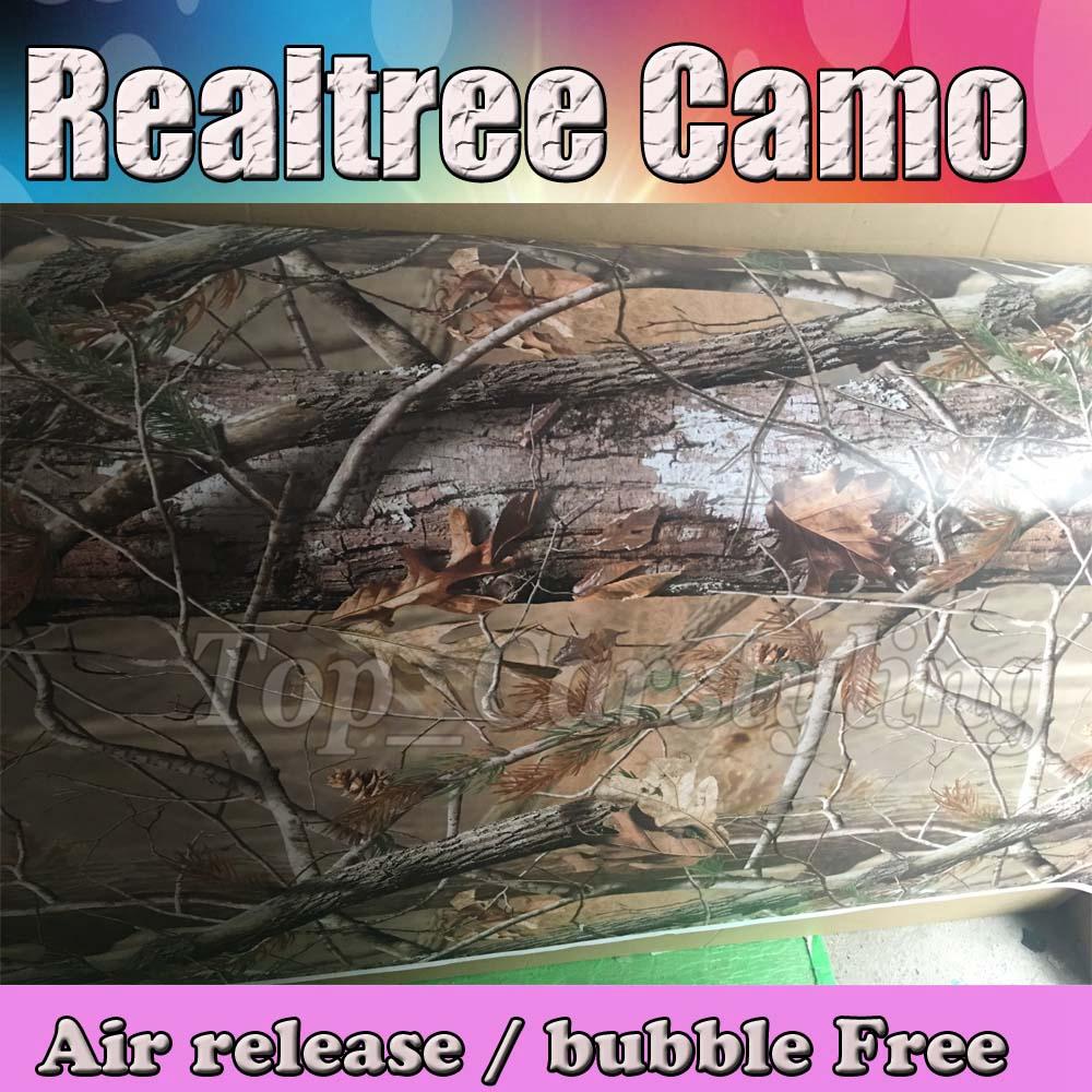Realtree camo vinyl sticker foile wrap sheet Camouflage Film Car Decals 3M Avery Arlon Vinyl (2)
