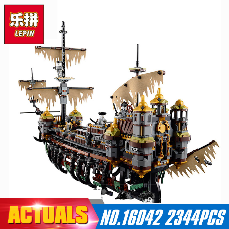 2344Pcs Lepin 16042 New Pirate Ship Series The Slient Mary Set Children Educational Building Blocks Bricks Toys Model Gift 71042 lepin 16042 2344pcs new pirate ship series building blocks the slient mary set children educational bricks toys model gift 71042
