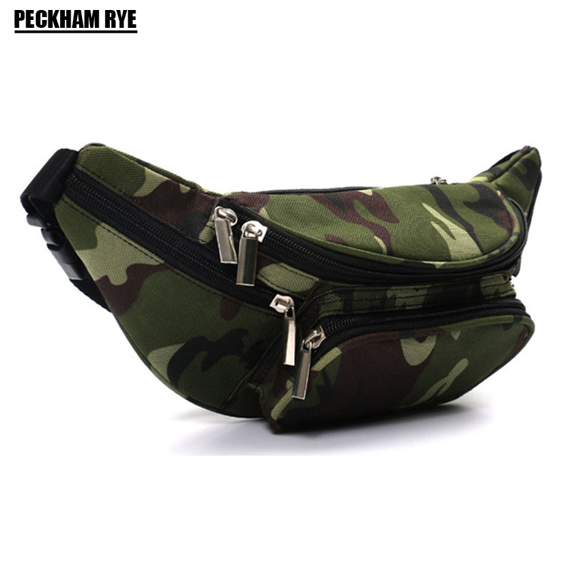 High Quality Ride Travel Camouflage Waist Bag Bananka Travel Leisure Fanny Pack Men And Women Walking Mountaineering Belly Band quality leopard stitching velvet sheepskin chain waist bag bananka travel leisure fanny pack women walking belly band belt bag