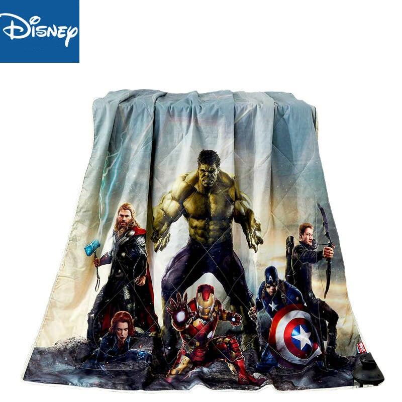 Disney été couette dessin animé Marvel 3D impression maison Textile couverture couette couvre-lit adapté pour les filles enfants adulte livraison gratuite