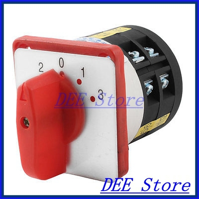 LW6--2/D252 2-0-1-3 4 Positions Universal Rotary Combination Switch ui 660v ith 20a 2 positions rotary cam universal combination switch