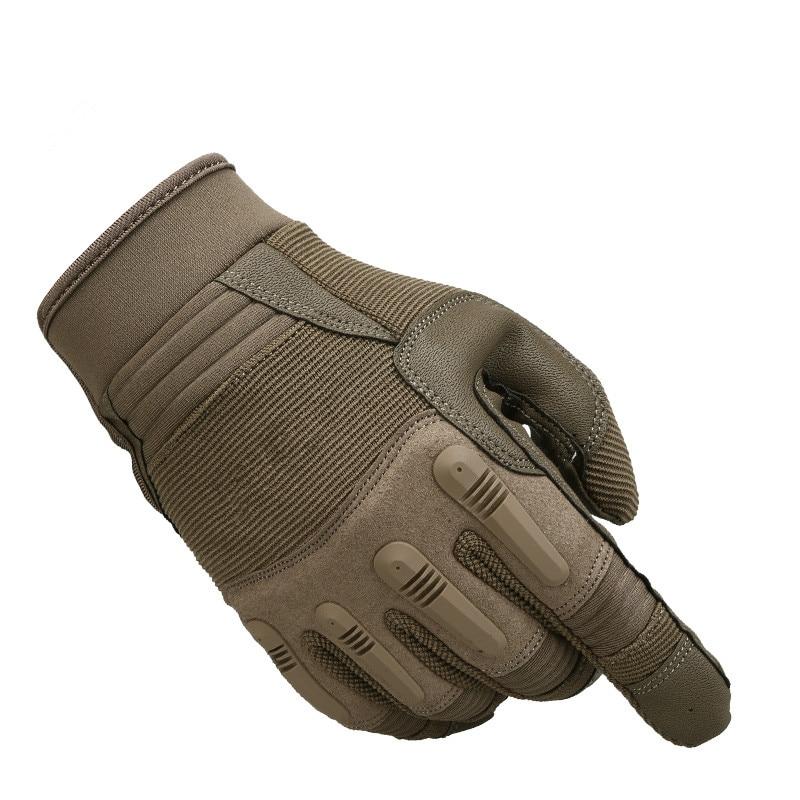 Military tactical wrestle long full finger mitten men outdoor riding training climbing non slip breathable wear resistant gloves
