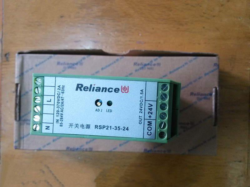 Rail switching power supply RSP21-35-24