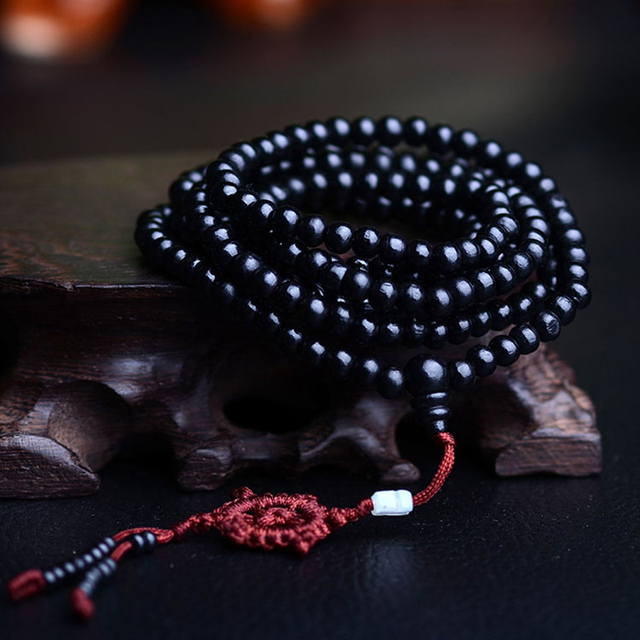 6mm 216 Bead Sandalwood Buddhist Mala