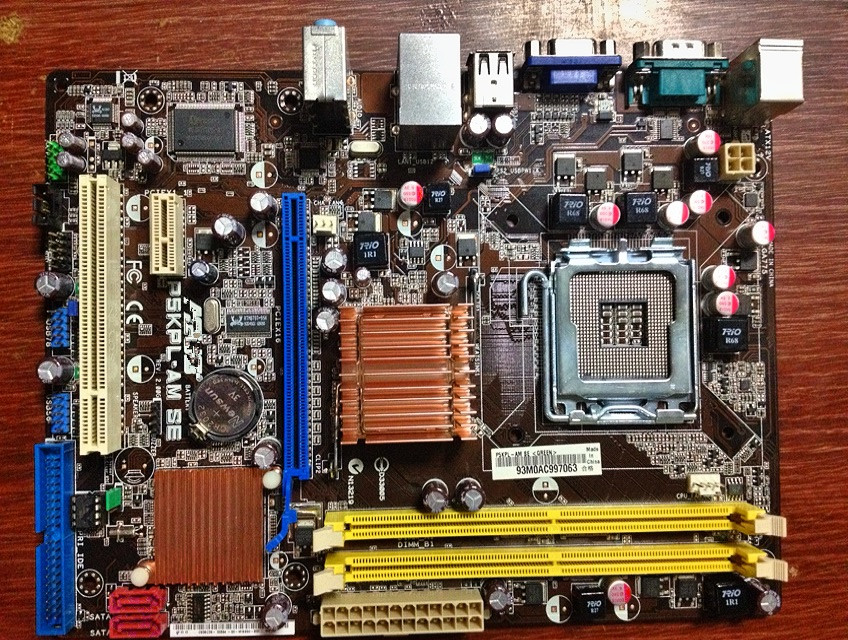 For Asus P5KPL-AM SE Original Used Desktop Motherboard For Intel G31 Socket LGA 775 For DDR2 4G SATA2 USB2.0 uATX asus original motherboard g31m s2l g31 ddr2 lga 775 motherboard